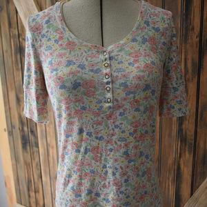 Lauren Jeans Co Ralph Lauren Floral Top Shirt